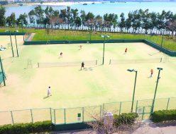 北谷公園テニスコート
